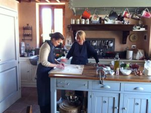 Tuscan cooking lessons in Tuscany