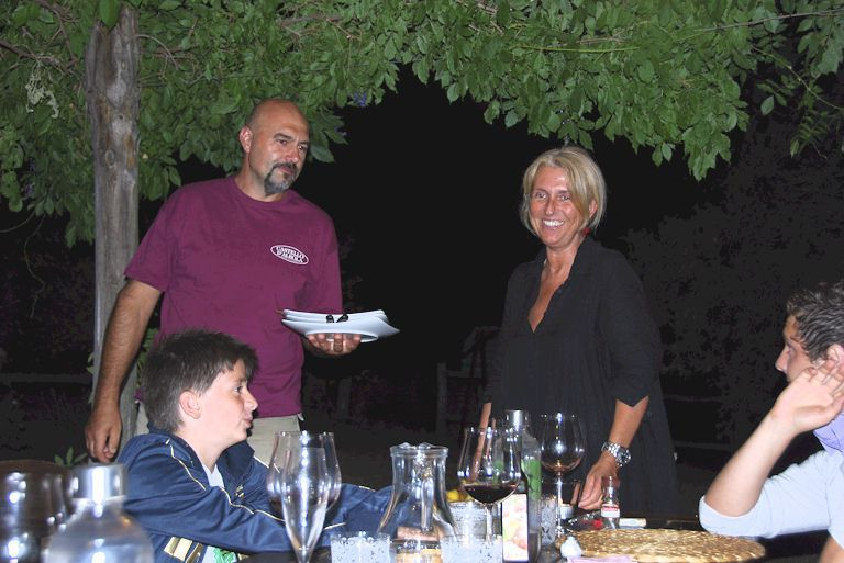 Tuscan dinner at your accommodations in Tuscany