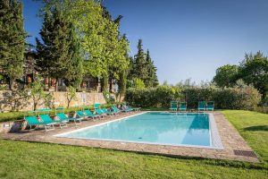 Stay in the cool hills of Chianti, Tuscany
